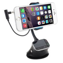 Car Kit Charger Cell Phone Mount Holder FM Transmitter for iPod GPS iPhone6 5S