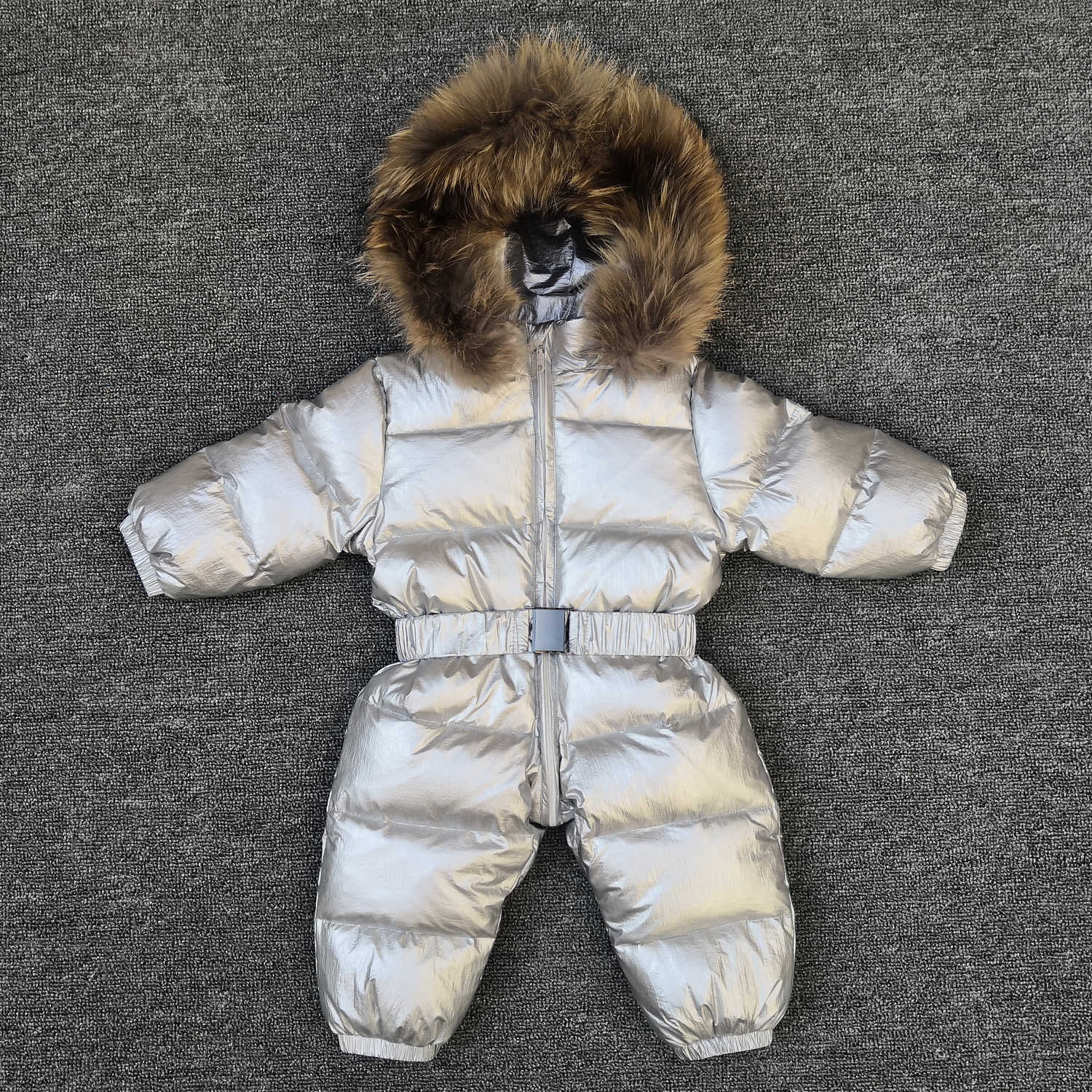 Russia new born baby clothes winter jumpsuit warm outerwear coats jacket for girls baby clothing boys