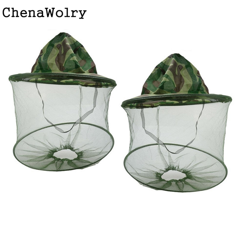ChenaWolry Fashion Accessories 2PC Net Mesh Face Protector Cap Insect Bee Mosquito Resistance Sun Fish Hat Oct 11 net mesh face protector cap insect bee mosquito resistance cap winter hat bone beanie hats for women winter hats for women pokem