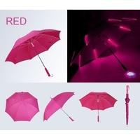 7 Colors LED Luminous Umbrella Changing Color Rain Kids Adult Flashlight Light Umbrella HG99