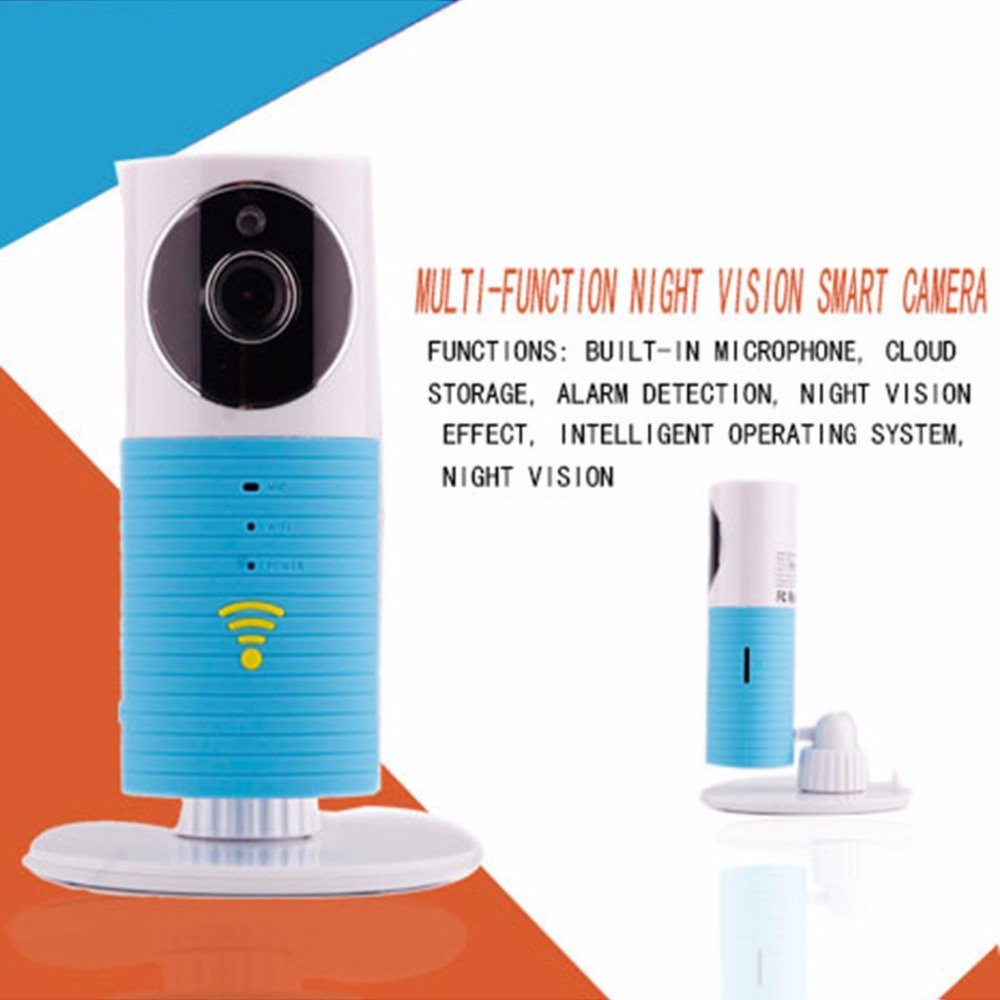 OWGYML Home Security 720P HD Clever Dog Wifi IP Camera Multi-function  Monitor Intercom Smart Phone Audio Night Vision camera