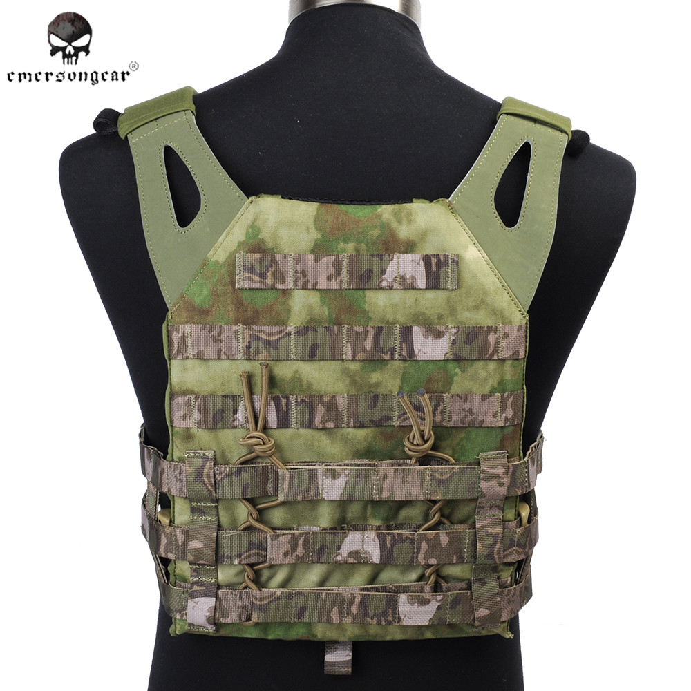 EMERSON 1000D JPC Tactical Vest Simplified Version Hunting Hiking Carrier Waistcoat Army Combat Military Equipment EM7344 upgraded version of the cs special tactical vest vest american field equipment thickening tactical vest