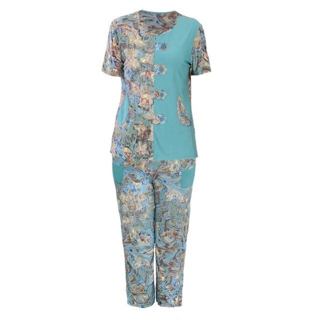 Plus Size Xl 3xl 4xl 5xl Chinese Women Fashion 2 Pcs Shirtpant