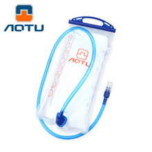 Hot Sale 2L TPU Bicycle Mouth Sports Water Bag Bladder Hydration Camping Hiking Climbing Military Transparent