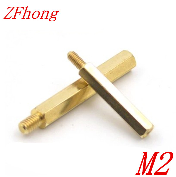 100pcs Male to Female brass spacer M2*3/4/5/6/7/8/910/11/12/13/14/15/16/17/18/19/20+3 2mm Brass Hex Standoff 20pcs m3 copper standoff spacer stud male to female m3 4 6mm hexagonal stud length 4 5 6 7 8 9 10 11 12mm