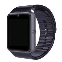 En la acción! GT08 Smartwatch Reloj Bluetooth Inteligente Reloj Teléfono con Cámara para apple Android Smartphones