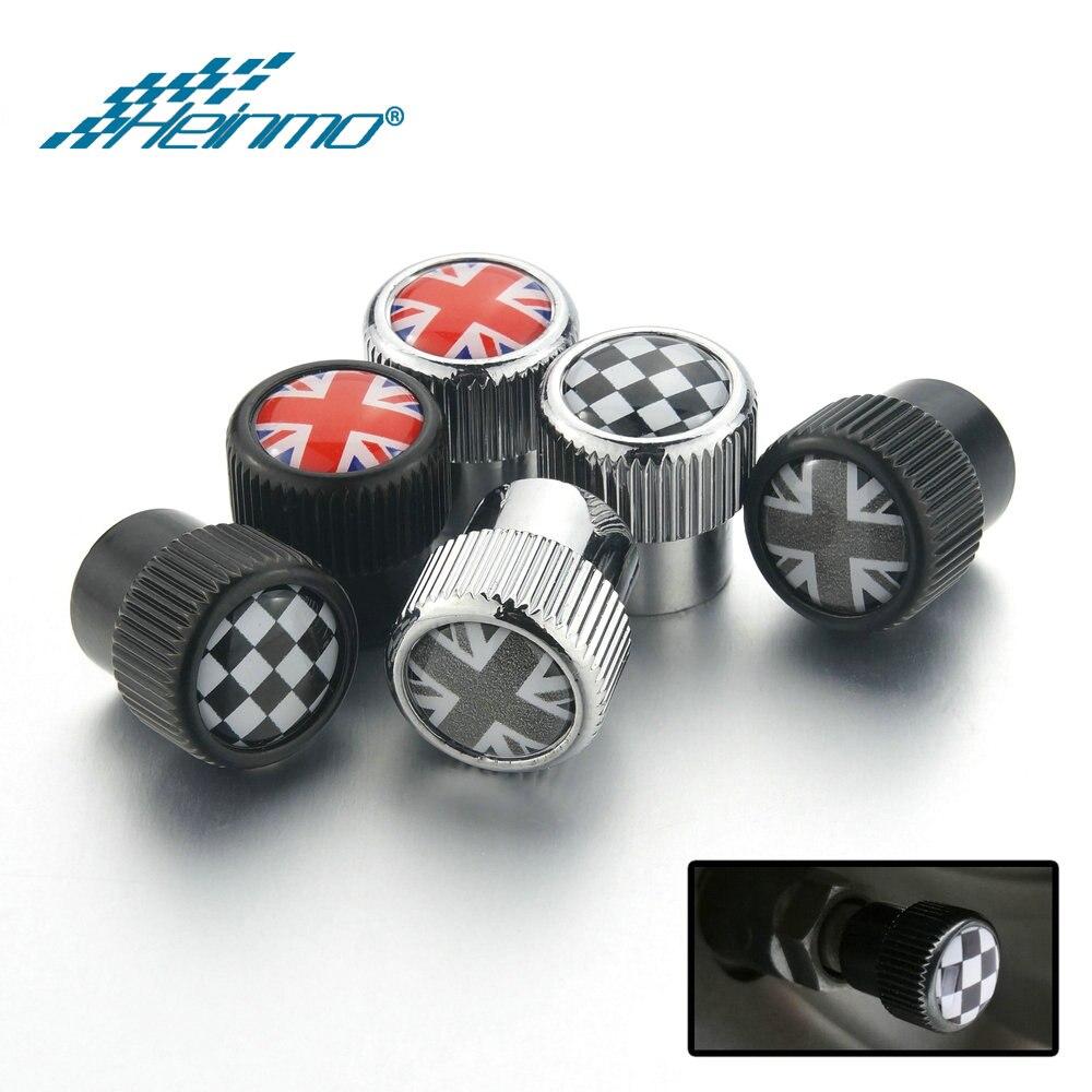 For MINI Countryman Accessories Clubman R50 R53 R55 R60 R61 F54 F55 F56 F60 Auto Car Tire Valve Cap Cover For MINI Cooper R56
