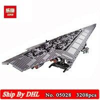 DHL корабль Лепин 05028 игрушка войны исполнитель супер Звездный Разрушитель Модель Строительство Наборы блоки 3208 шт. кирпичи детей игрушки 10221