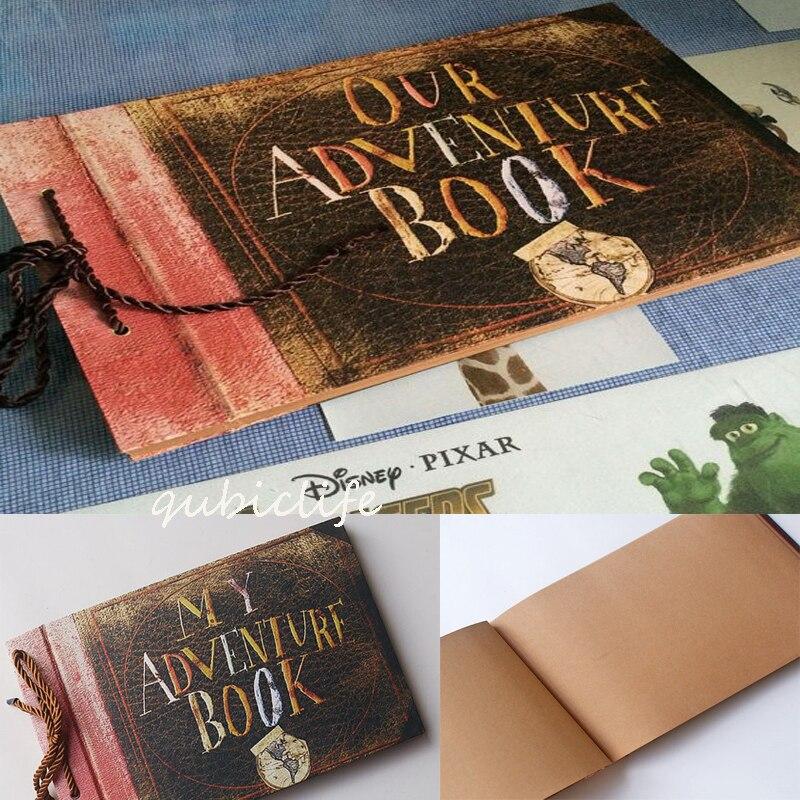 My Adventure Book Our Adventure book Our adventure book UP DIY Scrapbook photo album 80 pages