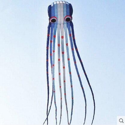 Haute qualité 15 m logiciel poulpe puissance cerf-volant variété couleurs bon vol
