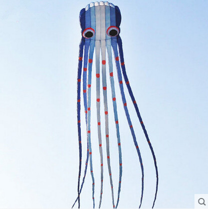 цена на High Quality 15 m Software Octopus Power Kite Variety Colors Good Flying