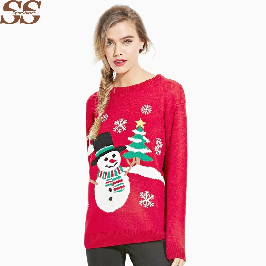 Christmas Tree Sweater Womens: Christmas Sweater Women Sweaters And Pullovers Ugly