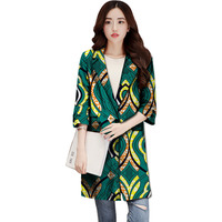 Personal Tailor Women Outwear African Print Dashiki Clothes Custom Exquisite Tailoring Design Fashion Coat Africa Clothing