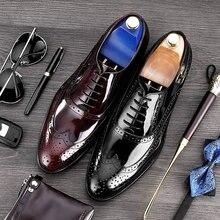 fa0c9329a MYCORON/мужские деловые кожаные ботинки из крокодиловой кожи, строгие  брендовые модельные туфли, мужские туфли с острым носком и.