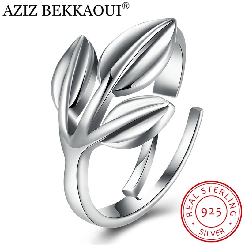 Finger-Rings Engagement Jewelry Open Women 100%925-Sterling-Silver for Tree-Of-Life AZIZ