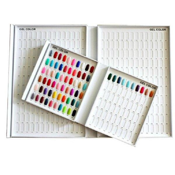 1Pc 120 Colors 18cm/21.2cm/3cm Nail Art Display Book Gel Polish Chart Tools Practical Nail Display Tool