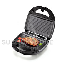 Electric MINI Egg Waffle Sandwich Maker Grilling 3 Optional Plates Breakfast baking sandwich waffle and steak pan
