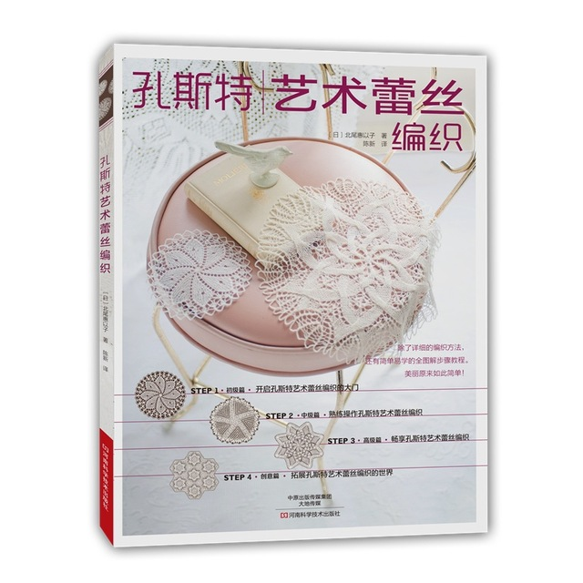 Kunst Lace Knitting Tutorial book The World of Kunststricken wing chun boji tutorial