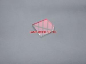 "Image 1 - DLP מנורת מקרן דיור חלון, זכוכית, UV/IR עדשה 24x25x2 מ""מ 24*25*2 מ""מ 24x25x2mm עבור ACER X113 מקרן"