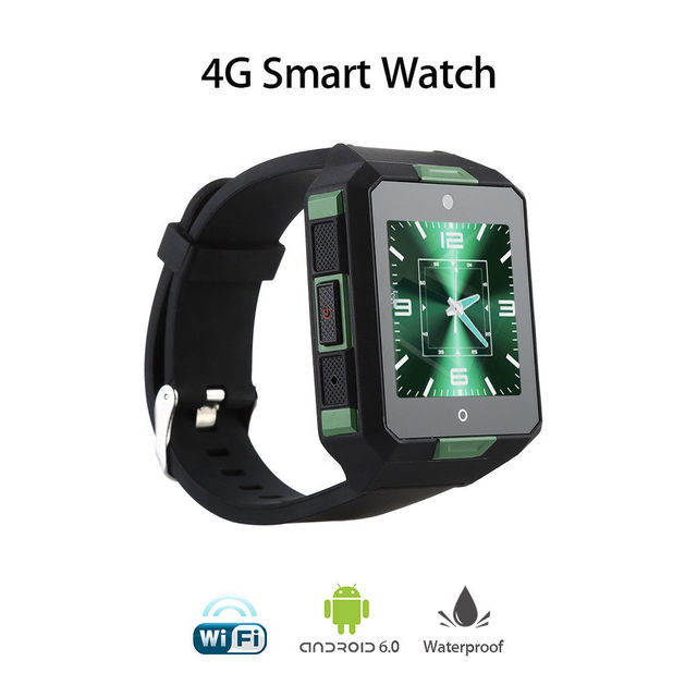4G Smart Watch BT WiFi Wireless Smartwatch IP67 Android Smart Phone Wrist Watch Camera DVR GPS Touch Screen Fitness Tracker Tool