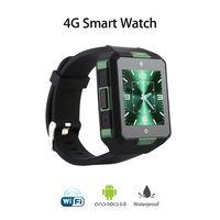4G Smart Watch BT WiFi Wireless Smartwatch IP67 Android Smart Phone Wrist Watch Camera DVR GPS Touch Screen Fitness Tracker Tool