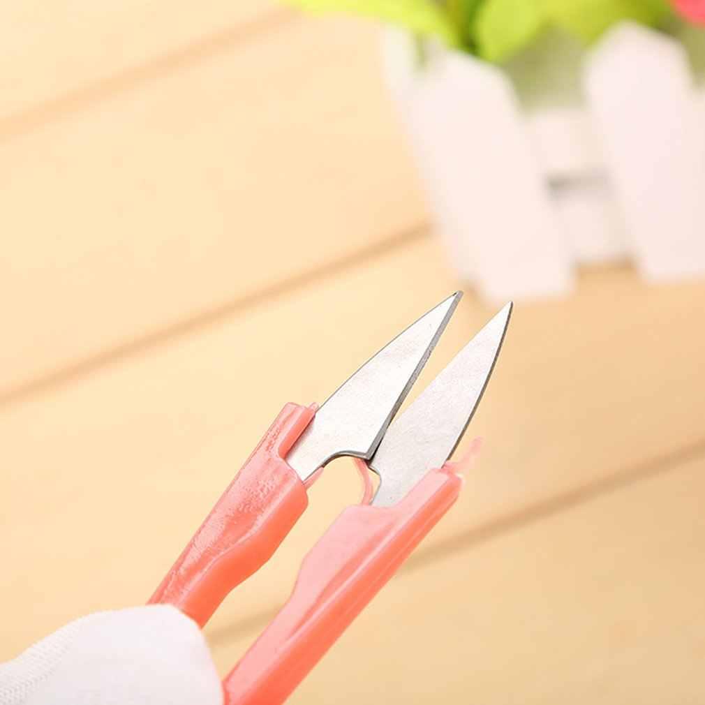 Ножницы для вышивки крестом ножницы секатор резьба U cut маленькие ножницы для пряжи весенние ножницы для пряжи нитки маленькие ножницы Прямая поставка