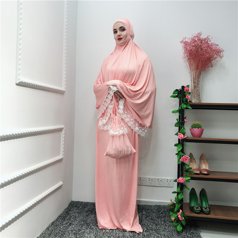 Ramadan Robe Abaya Dubai Turkey Hijab Muslim Dress Kaftan Abayas For Women Qatar Caftan Tesettur Elbise Prayer Islamic Clothing