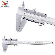 QSTEXPRESS Vernier Caliper 6″ 0-150mm 0.02mm Metal Calipers Gauge Micrometer Measuring Tools