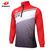 Free shipping New Arrival Custom 1/4 zip tracksuit high quality fishing clothes
