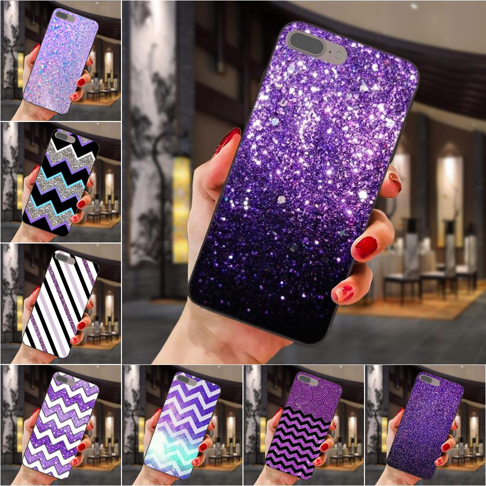 Soft-Cell-Case Glitter Sparkly Ace-Core J330 Purple Galaxy C5 Plus Mini J7 J730 Prime
