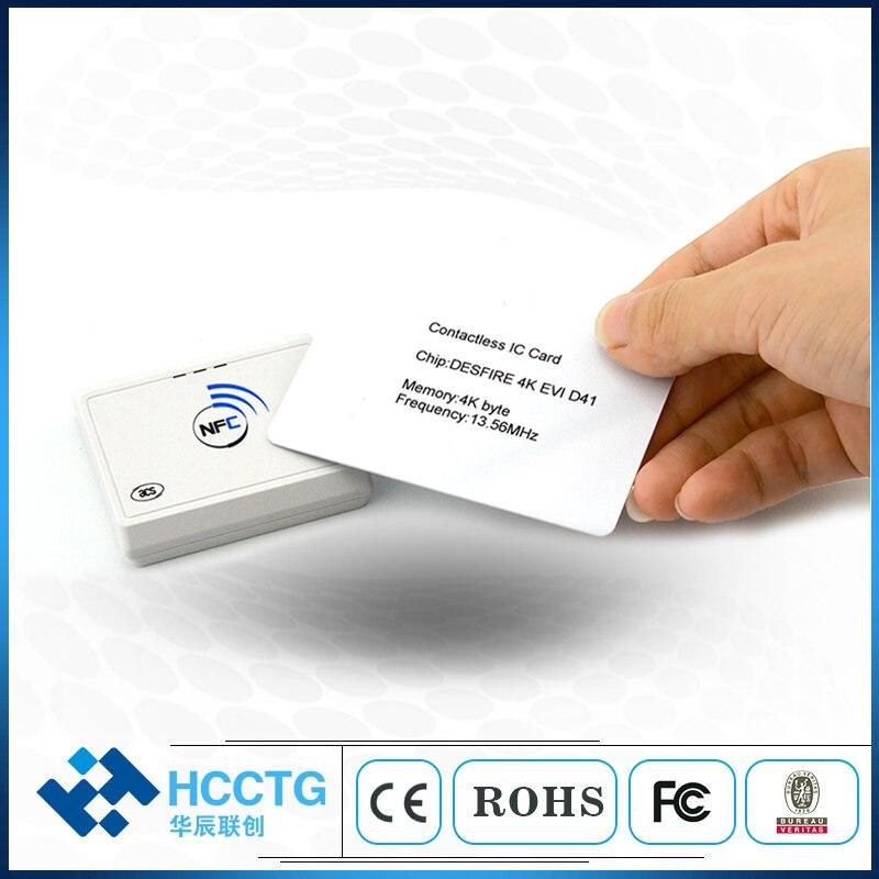 ACS мобильный Точка Продажи Небольшой NFC Bluetooth MPOS с считывателем смарт-карт ACR1311U-N2