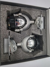 SANVI Car LED Headlight H7 9006 H4 35W 5500K High Low Beam Car-styling Modification Bi LED Projector Lens Headlight