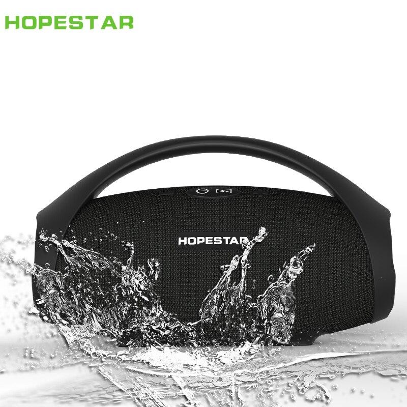 HOPESTAR-H32 Portable bluetooth haut-parleur sans fil extérieur étanche IPX6 mini haut-parleurs grande puissance 10 W colonne boombox musique FM TF