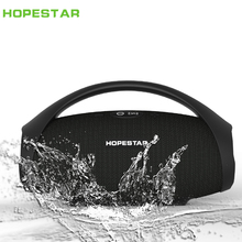 HOPESTAR-H32 Portable bluetooth speaker wireless outdoor waterproof IPX6 mini speakers big power 10W Column boombox music FM TF