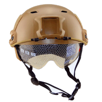 Cheap Level BJ Type Tactical Fast Helmet With Goggle Side Rails And NVG Mount For Outdoor