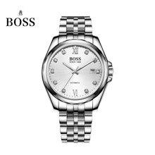 БОСС Германии часы мужчины люксовый бренд dayjust 21 ювелирные изделия MIYOTA CO. ЯПОНИЯ автоматические self-wind механические белый нержавеющая сталь