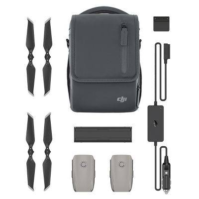 DJI Mavic 2 Fly More Kit include Car Charger Charging Hub Battery to Power Bank Adapter Low-Noise Propellers Shoulder Bag dji mavic 2 pro zoom fly more kit inclduing mavic 2 pro battery shoulder bag propeller car charger battery to power bank adapter