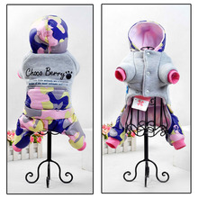 2016 newest style Dog Pet Clothes for Winter Super comfortable Pink Warm 100% cotton for Small Medium Dog Coat Jacket Girl