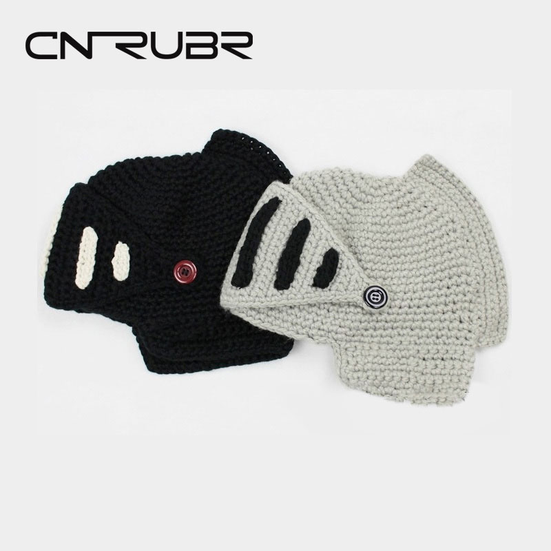 2015 New Fashion Winter  Warm Wool Knit Masks Roman Beanie With Beard Men And Women Knight Beanies Hats одежда для отдыха witch and knight nw15a575 2015 wk22