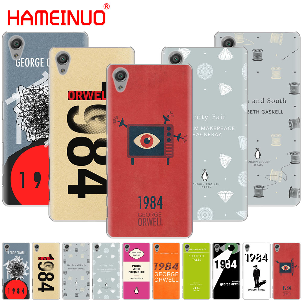 Half-wrapped Case Phone Bags & Cases Hameinuo 1984 George Orwell Book Cover Phone Case For Sony Xperia C6 Xa1 Xa2 Xa Ultra X Xp L1 L2 X Xz1 Compact Xr/xz Premium Various Styles