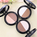 2 Colors Brand Illuminator Makeup Face Highlighter Base Foundation Bronzers Highlighters Contour Make Up Palette