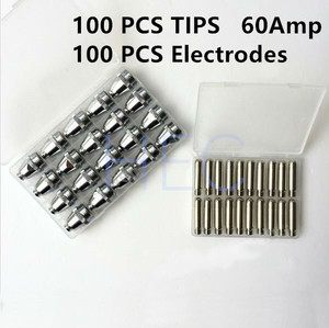 Image 3 - พลาสม่าตัด Electrode + เคล็ดลับ 100 ชุดสำหรับตัดไฟฉาย WSD60P AG60 SG55 มีดตัดเคล็ดลับ 200 PCS