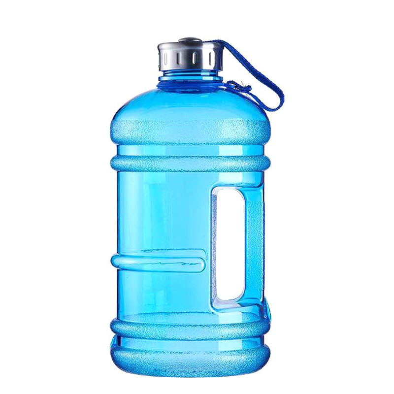 Hot Outdoor Water Bottle Portable Plastic Large Capacity Kettle with Handle for Hiking DO2