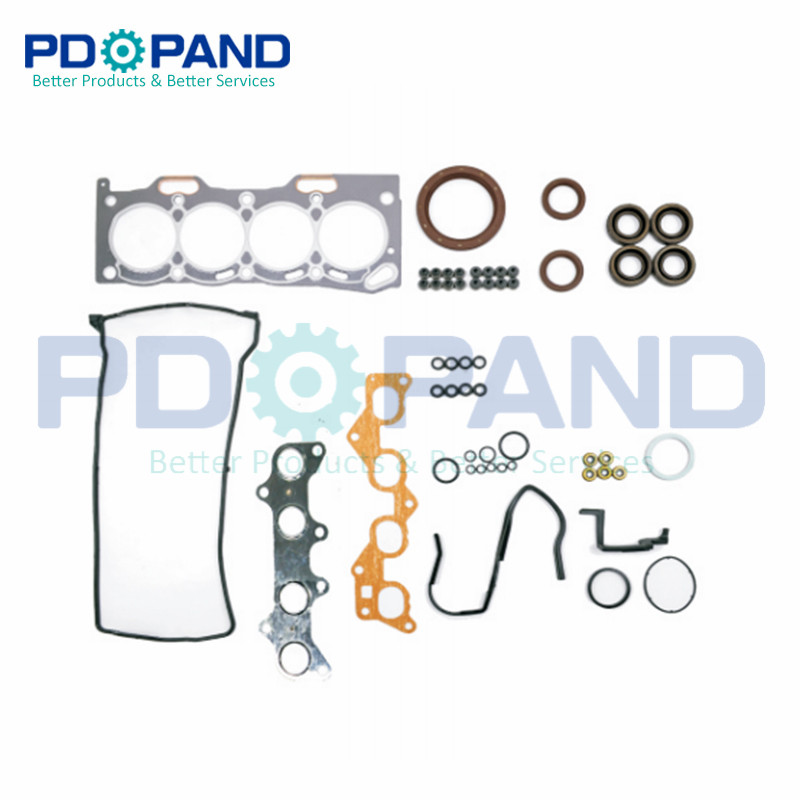 4E 4E-FE 4EFE Engine Overhaul Rebuild Gasket Kit 04111-11140 For Toyota COROLLA SECCA Hatchback/Liftback/Wagon E10 EE101 1.3L