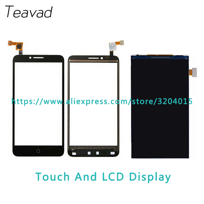 Replacement part 5.5'' For Alcatel One Touch Fierce XL OT5054 5054 5054D LCD Display Screen and Touch Screen Digitizer Sensor