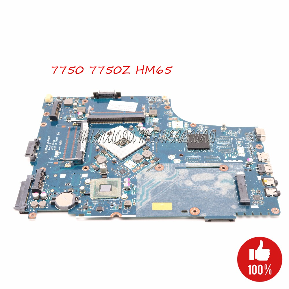 laptop motherboard For Acer aspire 7750 7750Z HM65 DDR3 P7YE0 LA 6911P Intel HD Graphics Main