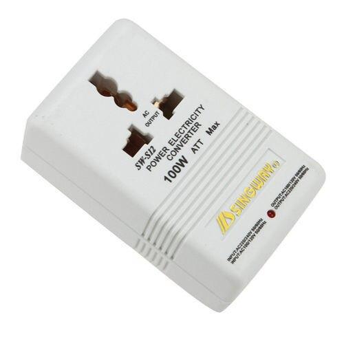 JFBL Power Converter - SINGWAY 100W 110V/120V to 220V/240V Step-Up&Down Voltage Converter Transformer Travel White