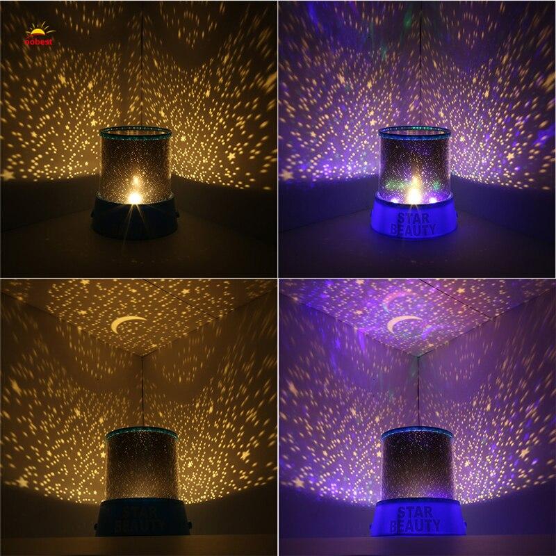 Luzes da Noite amazing romantic cosmos mestre céu Potência : 0-5 w