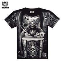 Men 3D T-shirt  Men Cotton 3D t Shirt Short Sleeve Brand Clothing New 2016 Printed Men Casual tshirt male XXXL Designed Shirts