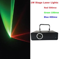 1Pcs Lot Free Shipping Stage Laser Light RGB Full Color Motor Scanning Laser Beam Stage